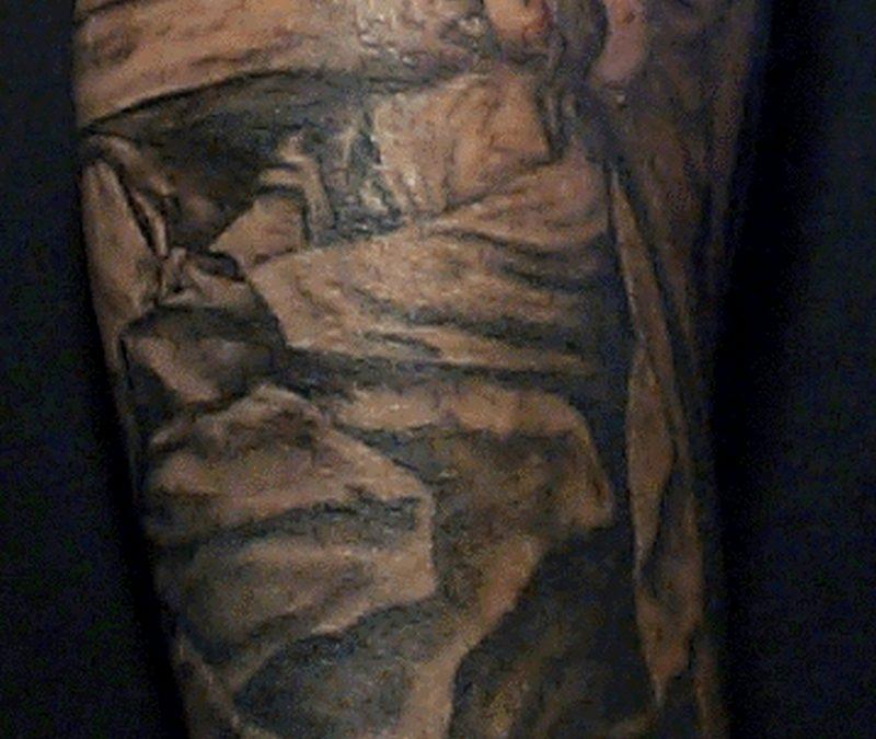 Christian jesus tattoo design