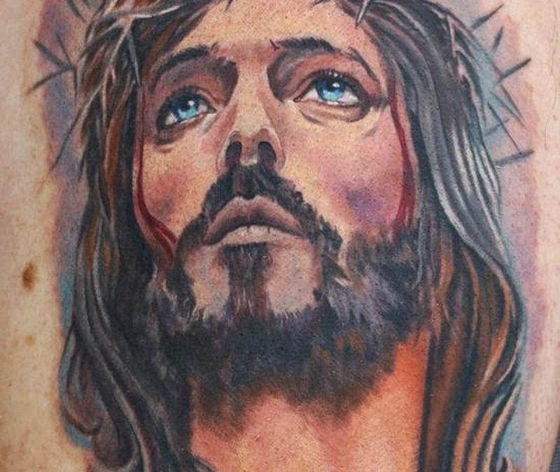 Christian jesus tattoo image