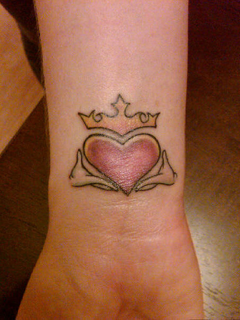 Image result for claddagh tattoo