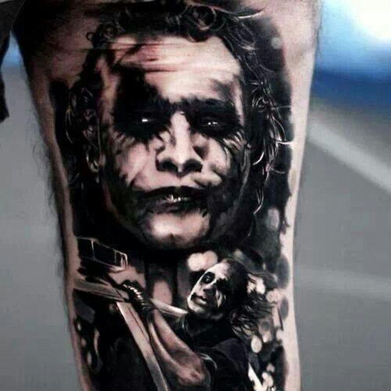 Dark Joker Tattoo Design 2 Tattoos Book 65 000 Tattoos Designs