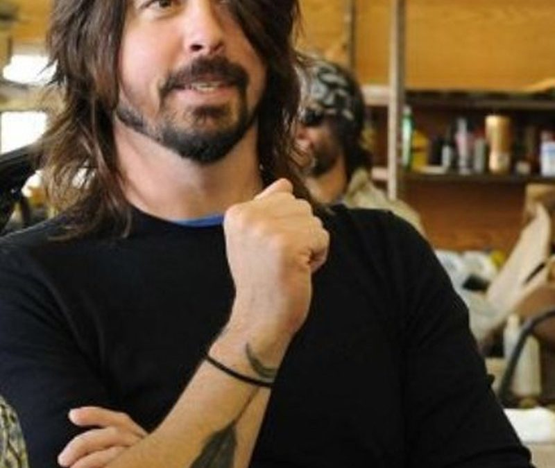 Dave grohl feather tattoo designs