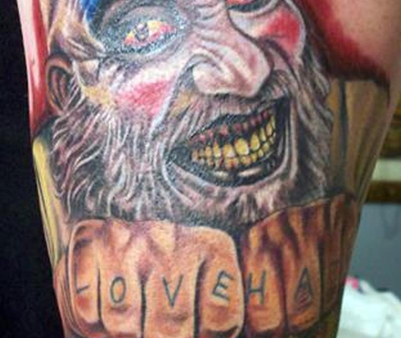Devils rejects horror tattoo design