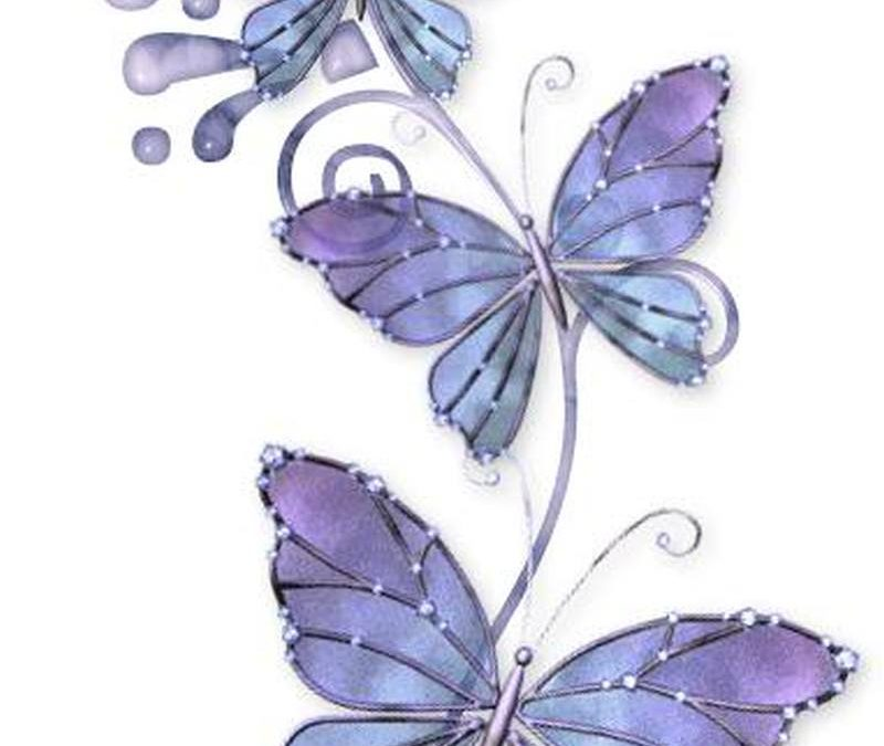 Elegant butterflies tattoo designs 2