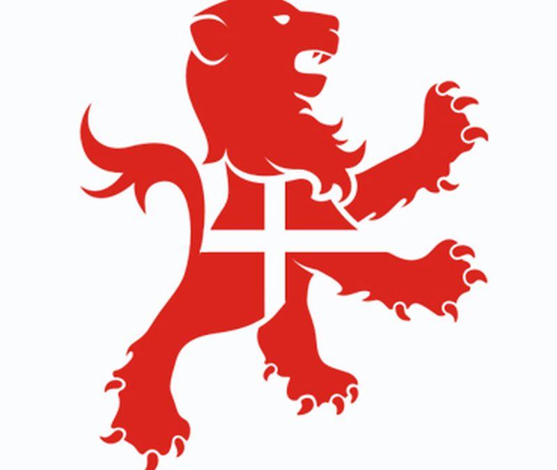 England lion flag tattoo design