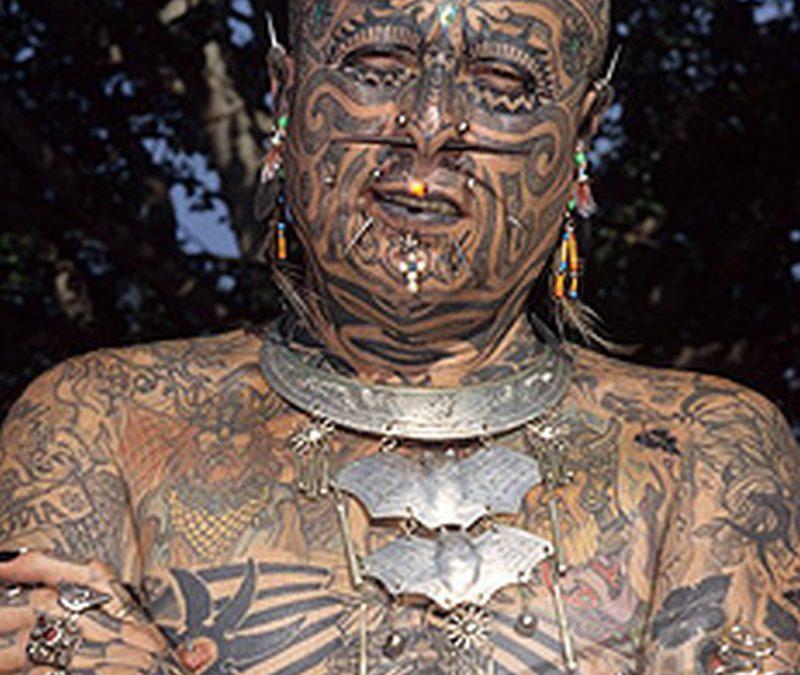 Extreme body modification implants tattoo