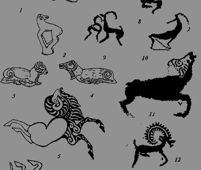 Few deer tattoo designs