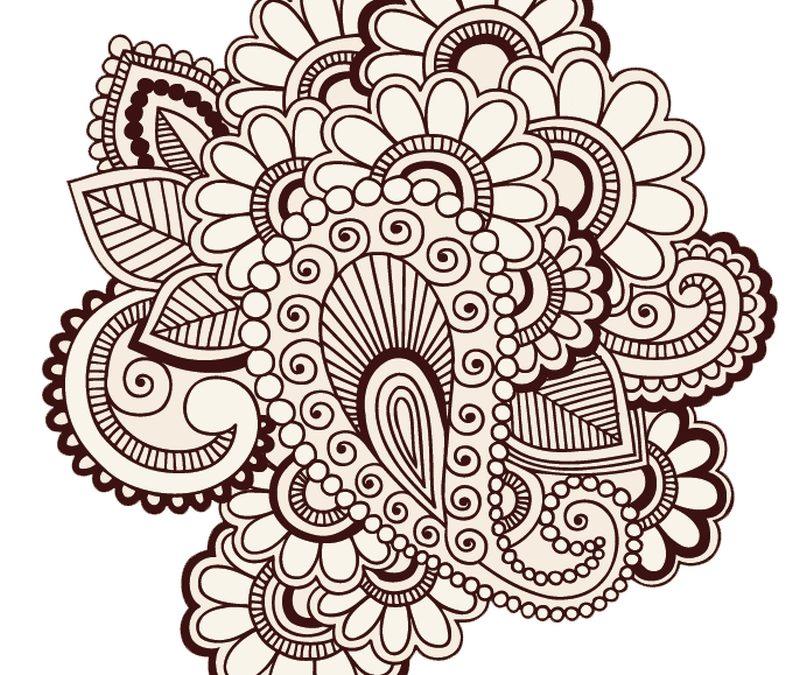 Free henna tattoo design