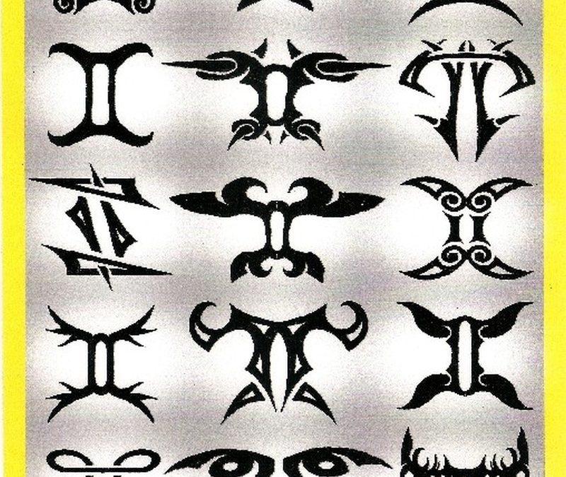 Gemini zodiac tattoo designs