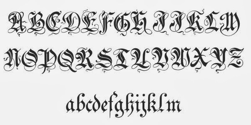 Good celtic fonts for tattoos 9