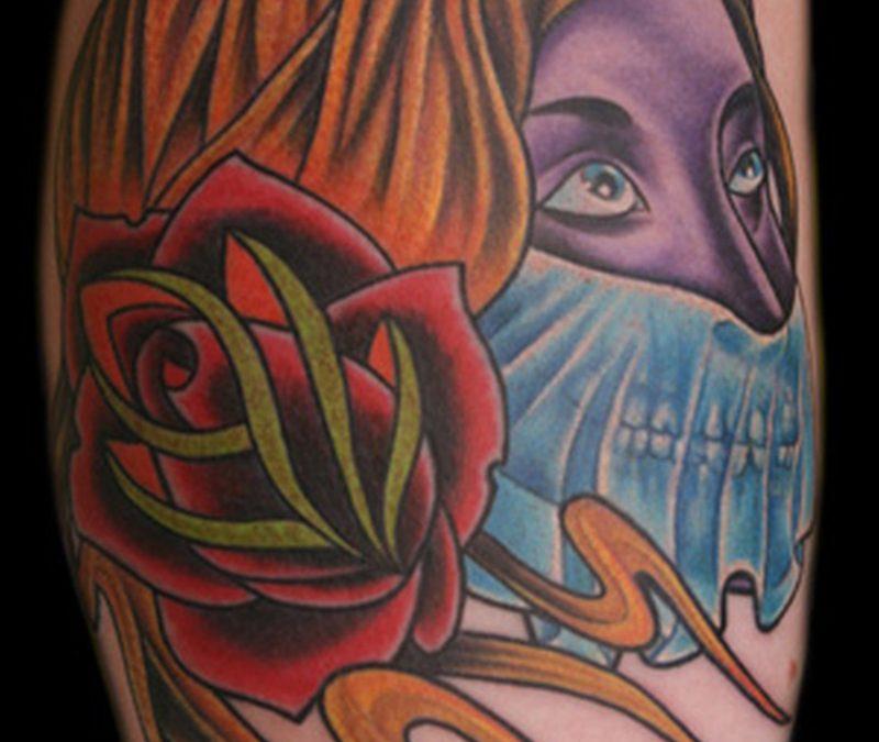 Gypsy rob woman tattoo design