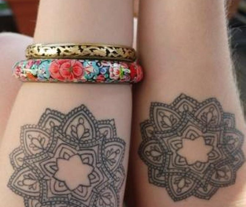 Hinduism mandalas tattoo designs