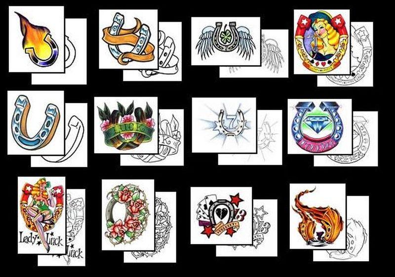 Horseshoe designs 2 tattoo