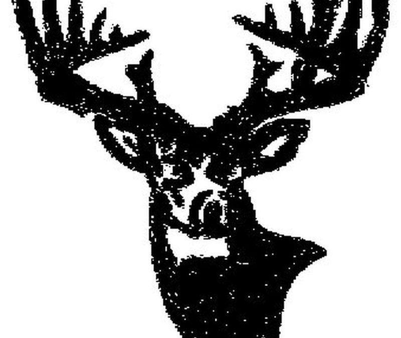 Hunter deer design tattoo