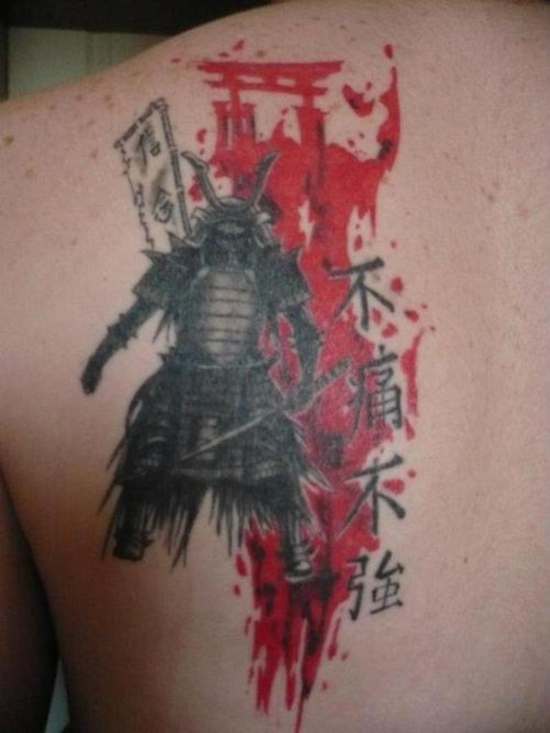 Japanese Samurai Tattoo On Back 2 Tattoos Book 65 000 Tattoos Designs