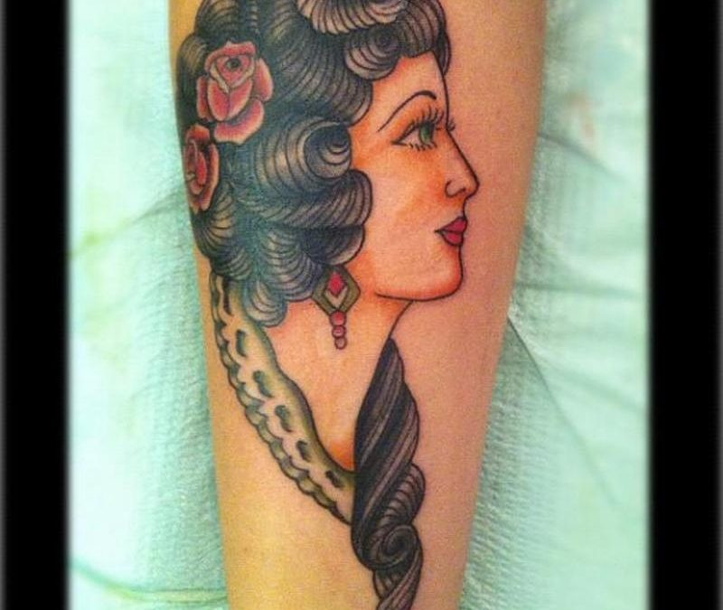Sailor jerry gypsy tattoo design