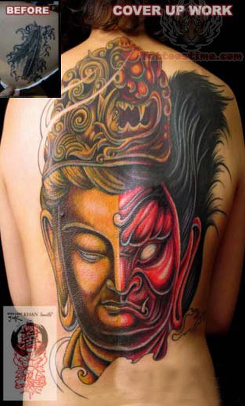 Buddha Tattoo Picture spiritual buddha tattoo on back - tattoos book - 65.000