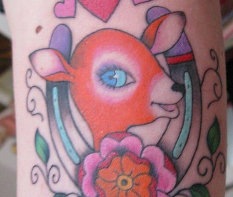 Tattoo femininehorseshoetattoo