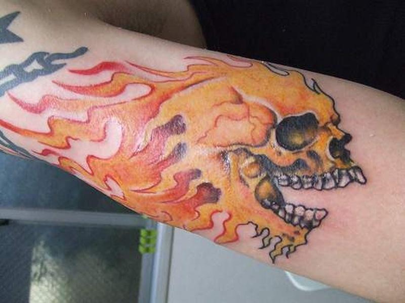 Tattoo fire32