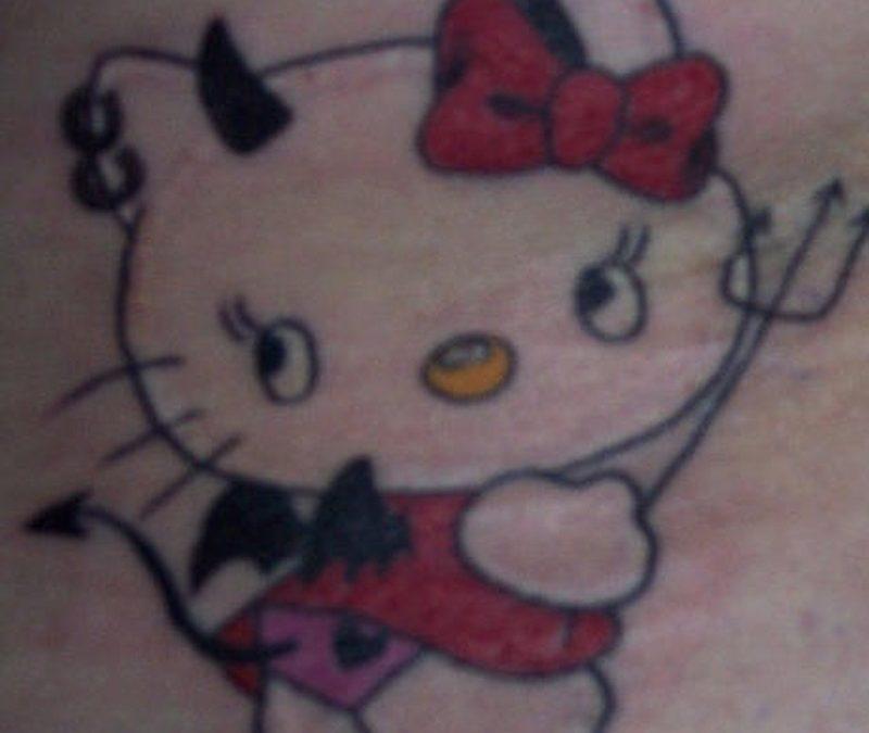 Tattoo hellokittytattoo 0