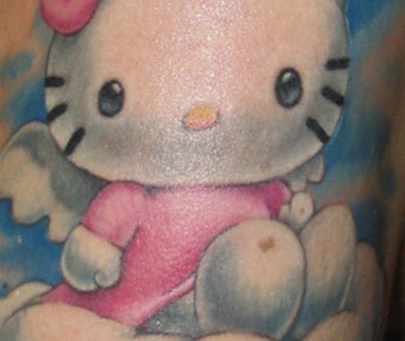 Tattoo hellokittytattoo