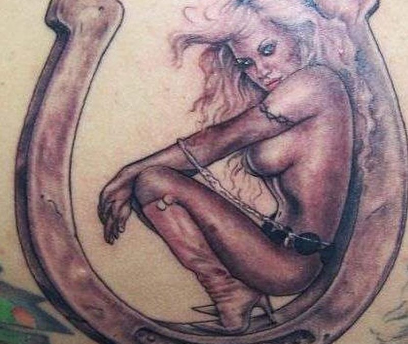 Tattoo horseshoe129