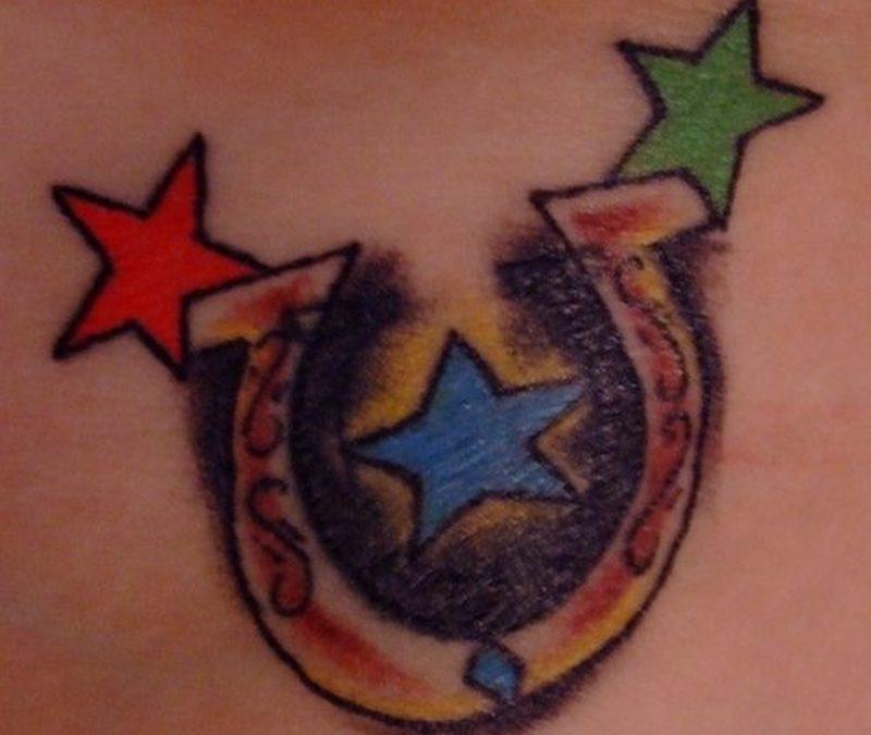 Tattoo horseshoe140
