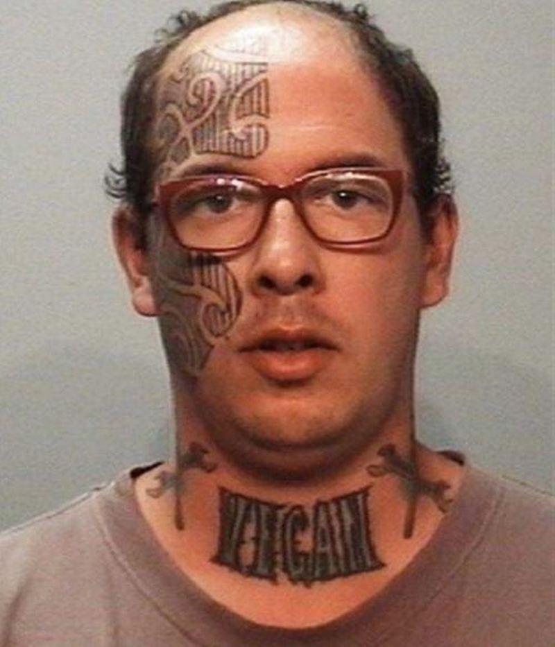 Worst face tattoo - Tattoos Book - 65,000 Tattoos Designs