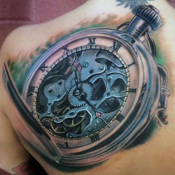 The 85 Best Clock Tattoos for Men